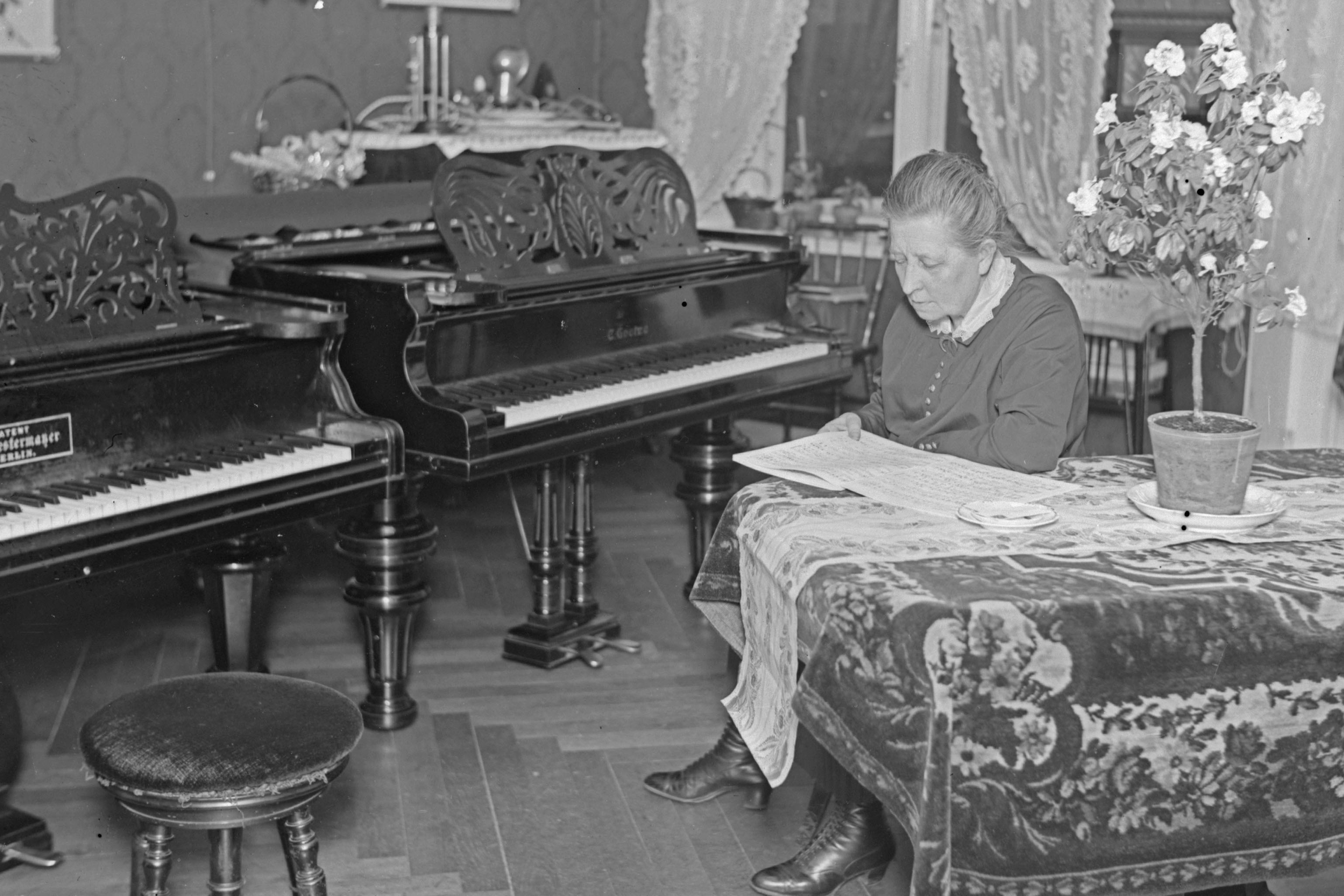 The history of playing the piano in Finland